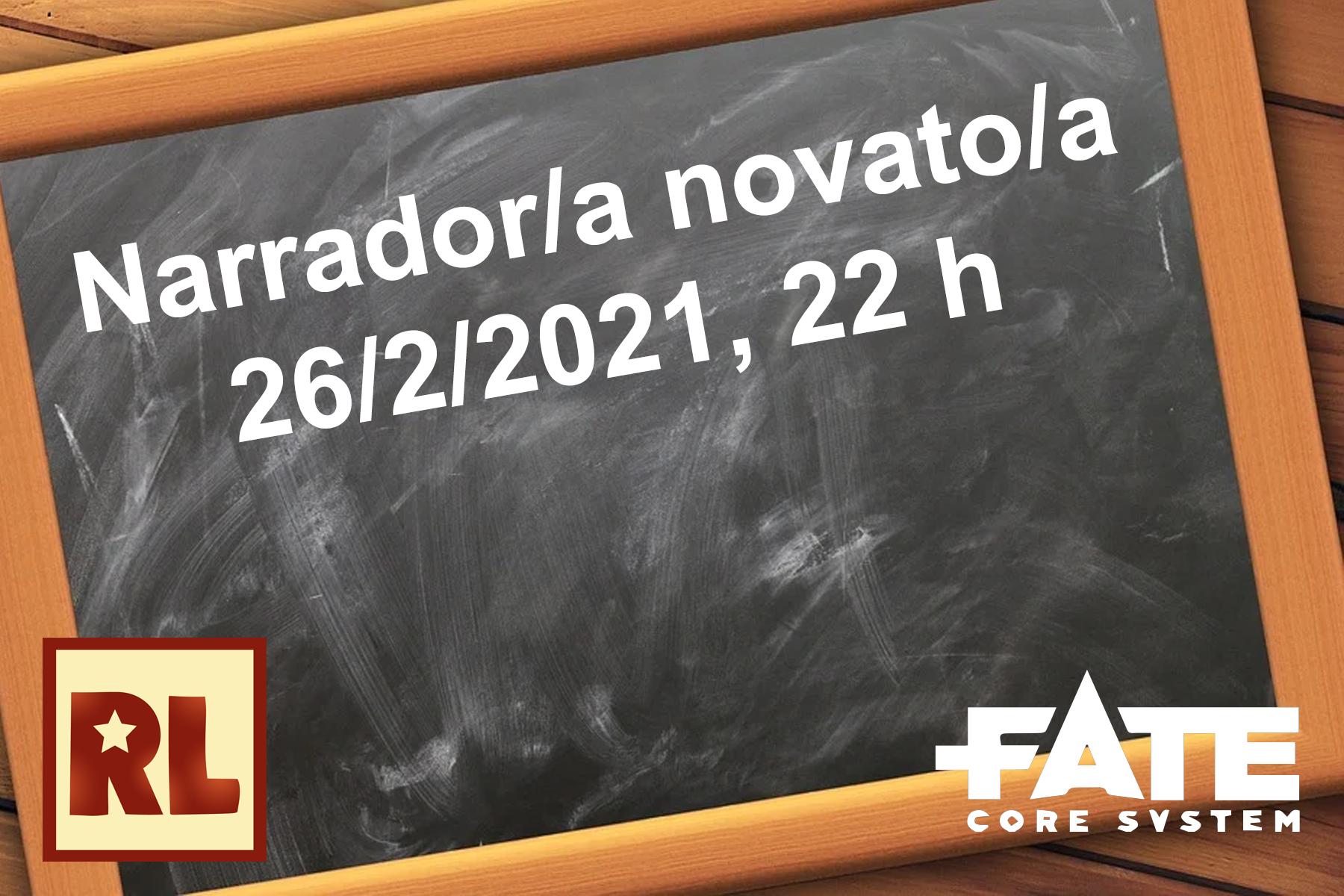 Narrador/a novato/a (Fate core)