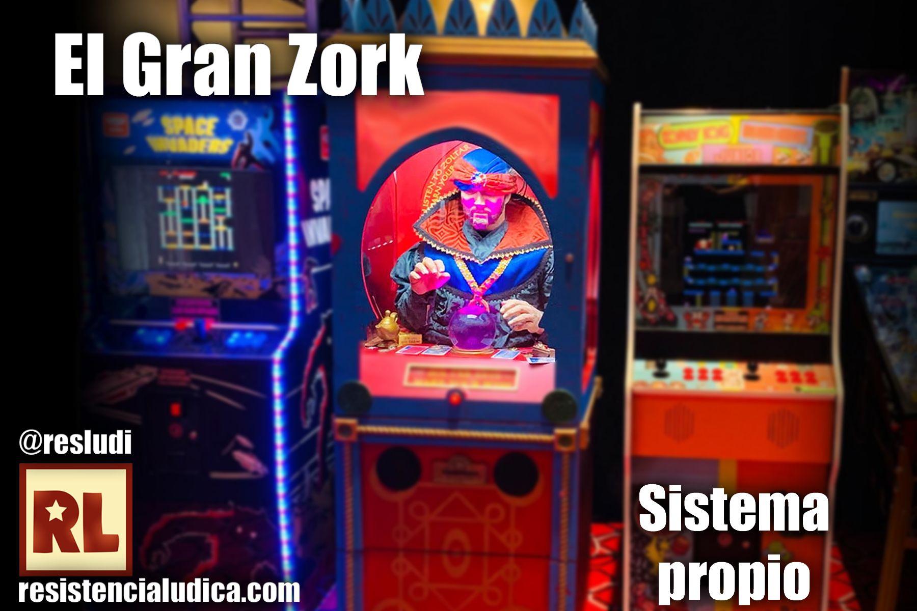 El Gran Zork (Sistema propio)